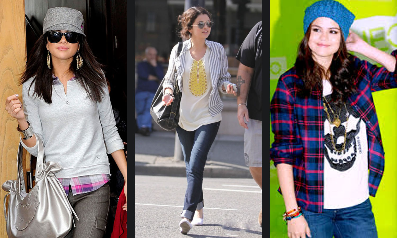 Selena Gomezs Casual Style