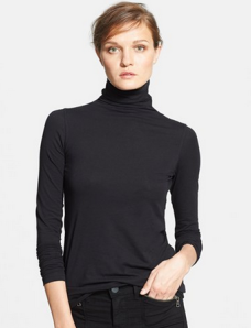 Vince Soft Cotton Turtleneck $95